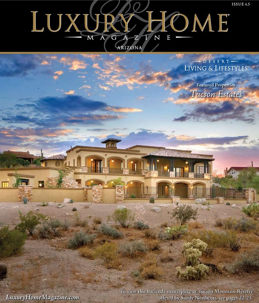 Luxury Home Magazine Phoenix Isuue 4 5 Cover Photo By
