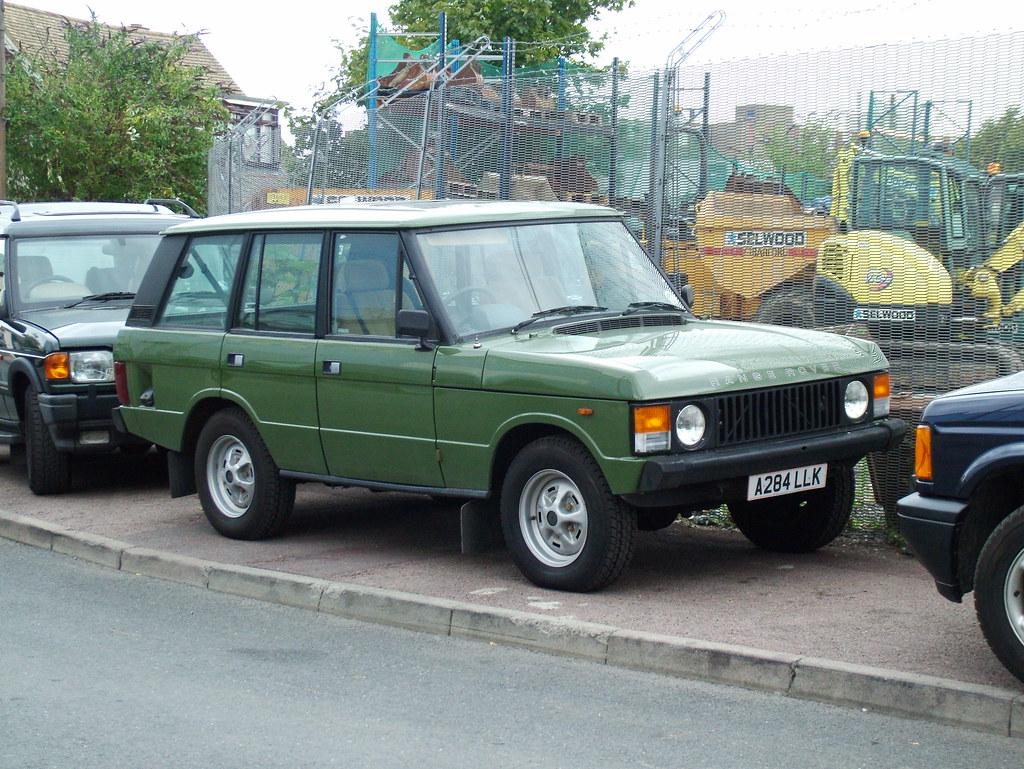 Range Rover Land Rover >> Classic Range Rover V8 | 1984 Rover Range Rover 3.5L V8 ...