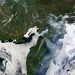Fires and smoke in eastern Siberia