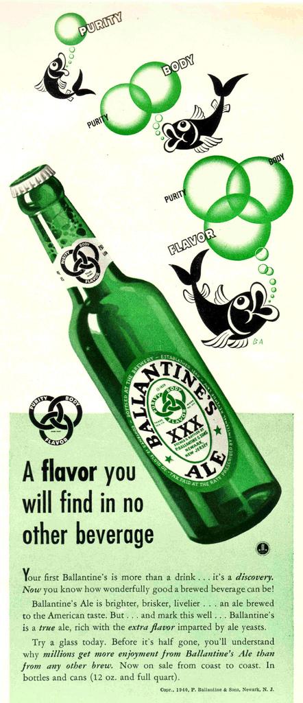 Ballantine-1949-green