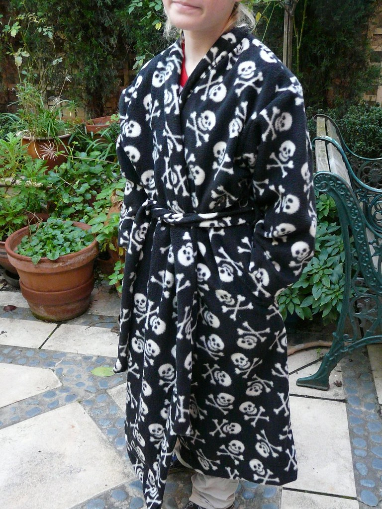 skull dressing gown | Jenny Baxter | Flickr