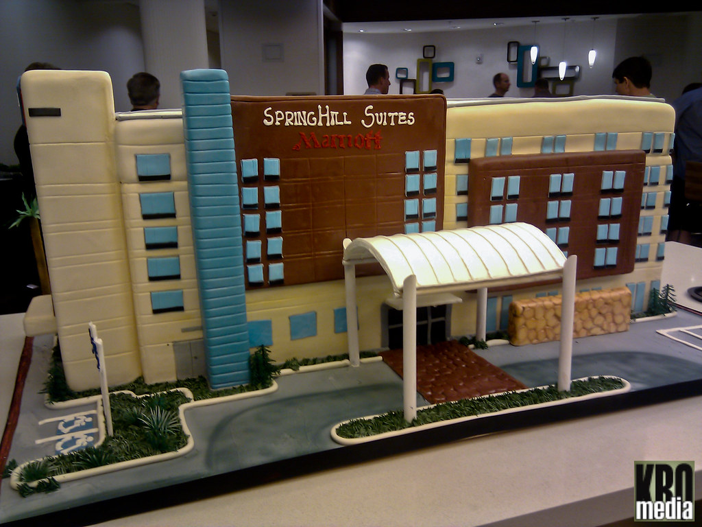 Springhill suites by marriott hotel cake kristen for Springhill designs