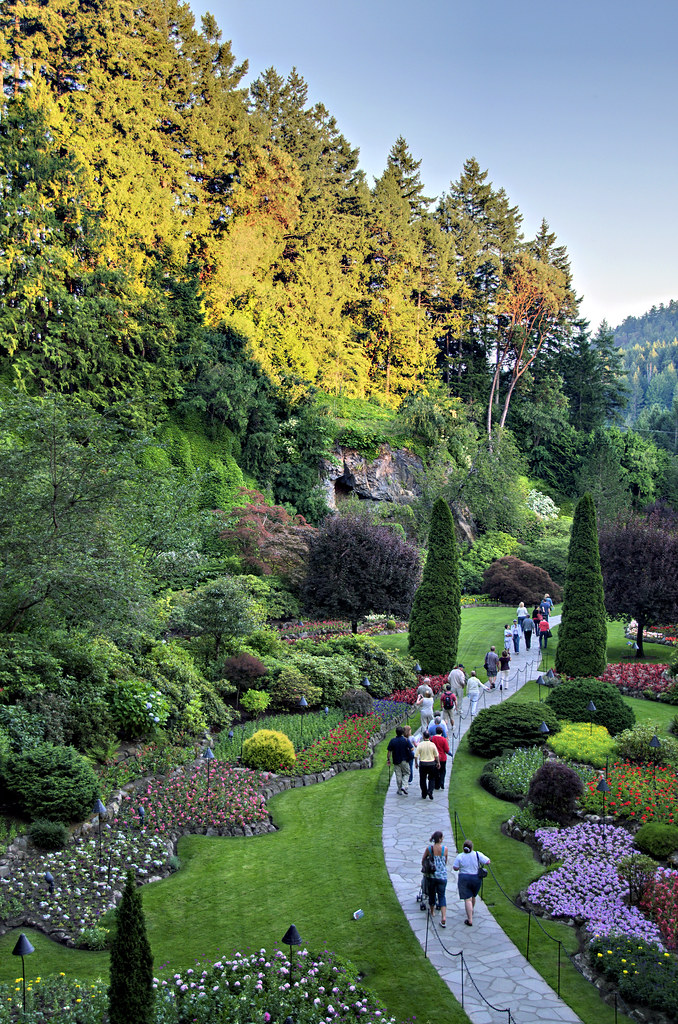 Sunken Garden Alex Gladshtein Flickr