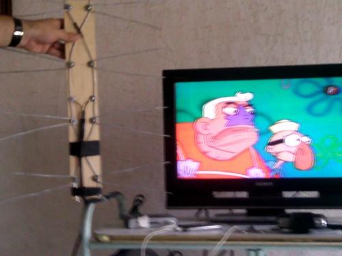 Mi antena de televisi n casera francisco javier de la - Antenas de television ...