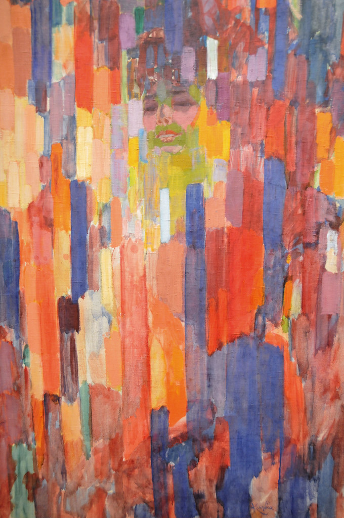 Frantisek kupka mme kupka among verticals at moma new yo for Painting jobs nyc