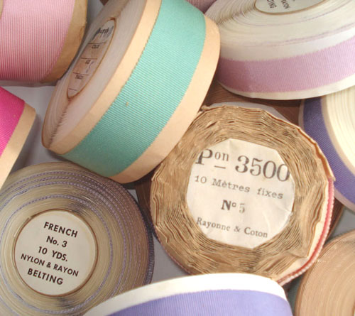 Vintage French Ribbon Rolls | by such pretty things
