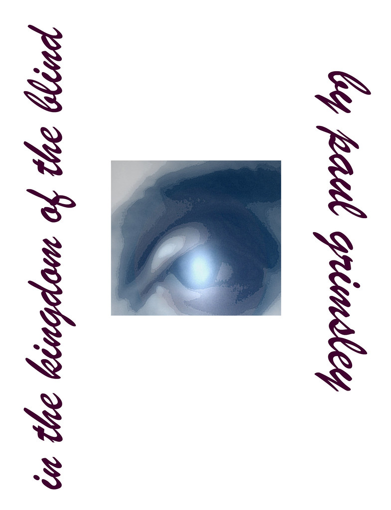 My Poetry Book Cover : Kingdom of the blind my poetry book cover paul