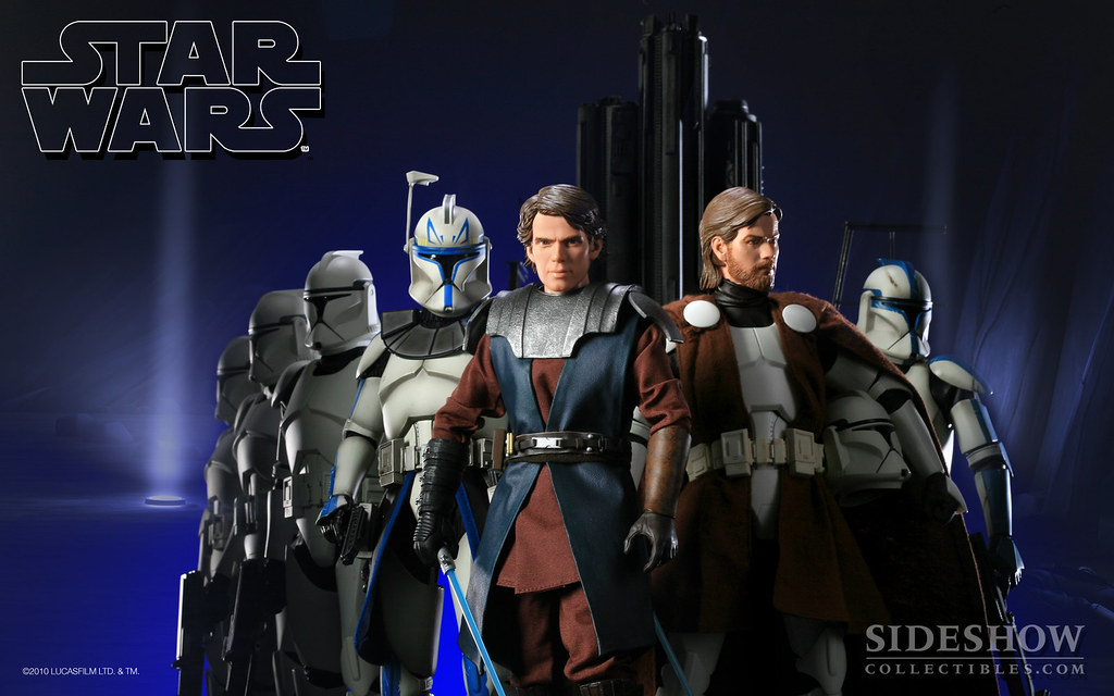 "Star Wars ""Clone Wars"" Wallpaper"