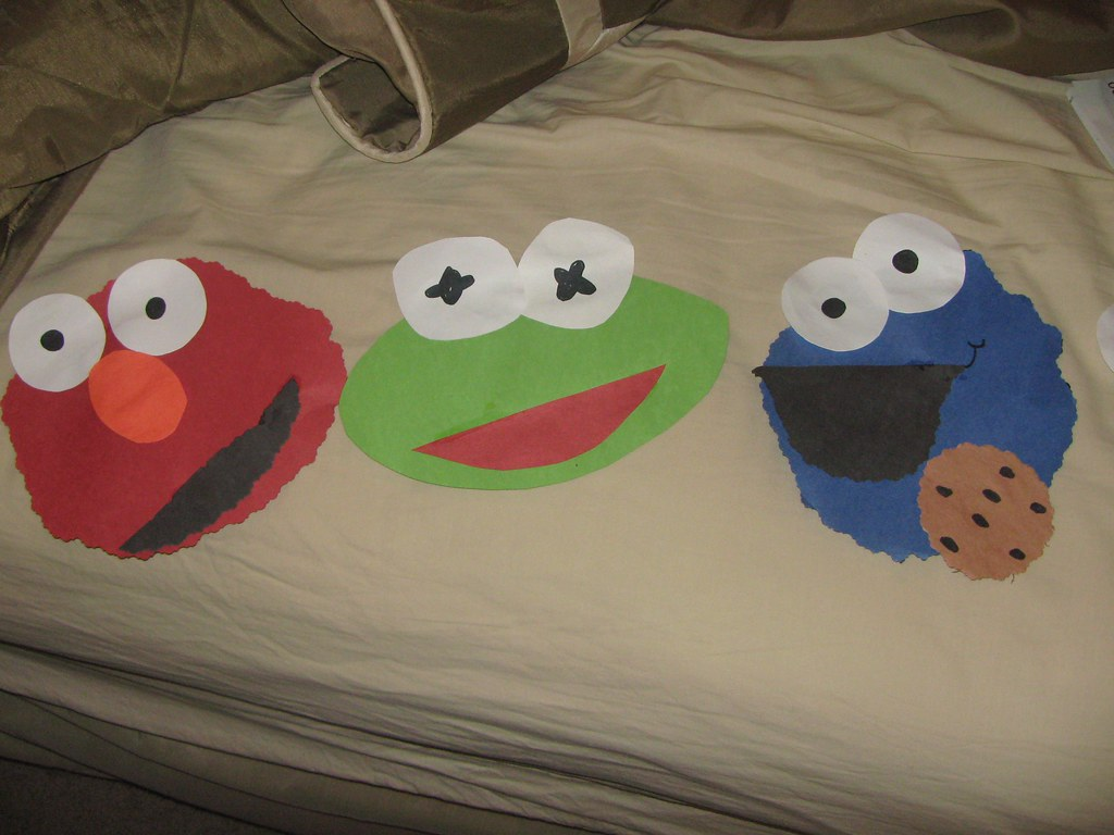 Elmo Crafts For Toddlers