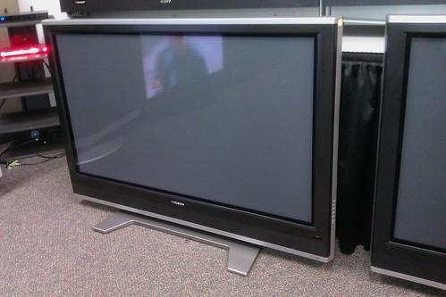 toshiba 50 inch plasma 720p full hdtv 59 450 priced for flickr. Black Bedroom Furniture Sets. Home Design Ideas