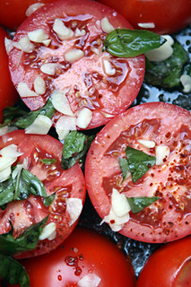 tomatoes ready for roasting | by David Lebovitz
