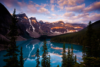 "Moraine Lake ""Patches of Light"" 
