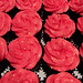 Chocolate Cupcakes with Hot Pink Disco Glitter Buttercream