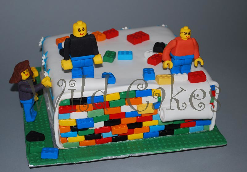 Lego cake | 7th birthday cake for my son... it was a ...
