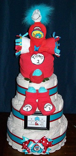"Dr. Seuss ""Thing 2"" Cake 