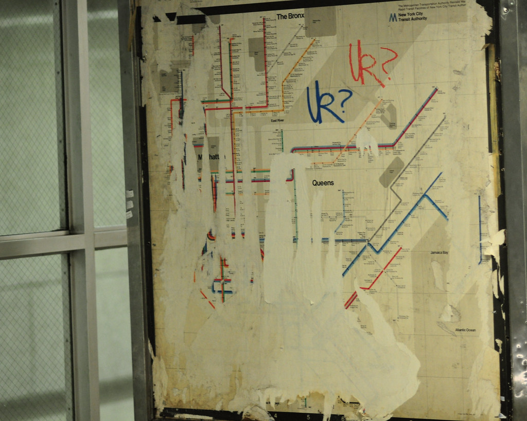 Old Ny Subway Map.700 730 Old Subway Map I Found An Old New York Subway Map Flickr