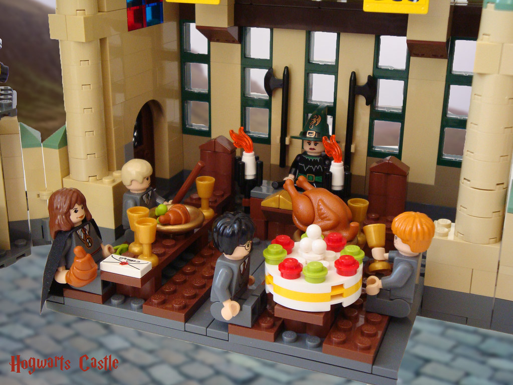 Hogwarts Dining Room Lego Harry Potter 4842 Hogwarts Great Hall There S A