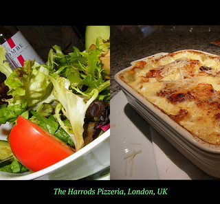 The Harrods Pizzeria : LONDON : ENGLAND : United Kingdom : Wonderful setting, great italian variety, superb flavours and choice, great service too! We had a great lunch here : LANDMARK : ICON : ENJOY! :) | by || UggBoy♥UggGirl || PHOTO || WORLD || TRAVEL ||