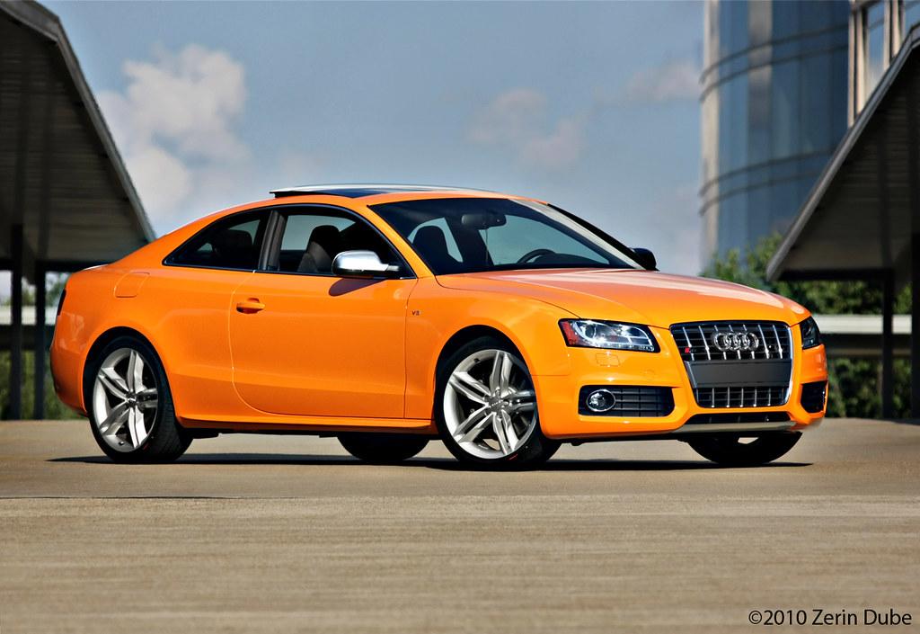 Nick S 2011 Glut Orange Audi S5 Zerin Dube Flickr