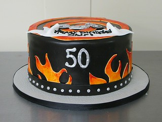 flames | by Janell's Cakes