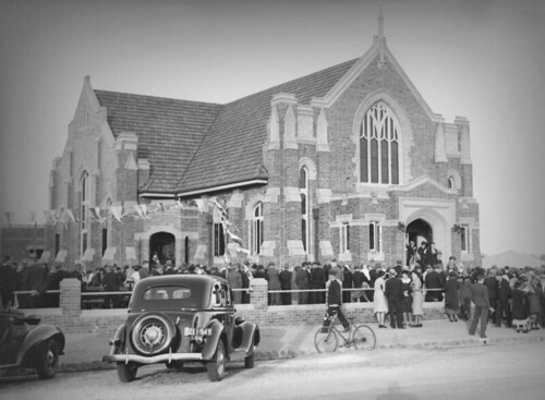 Opening Ceremony of the Methodist Church, Bundaberg, 1937 | by State Library of Queensland, Australia