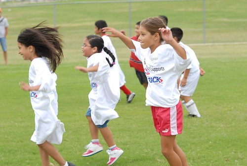 Passback Soccer Clinic at ¡Vive tu vida! Get Up! Get Moving!® | by getupgetmoving