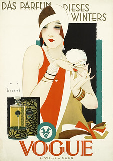 The perfume of this winter - Vogue (1927) | by Susanlenox