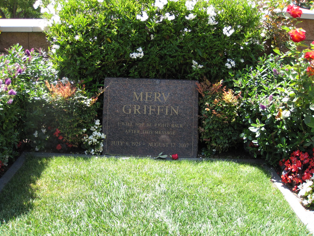 Merv Griffin Gravesite...