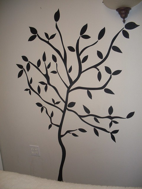 Wall Decor For Massage Room : My tree wall decor in massage room flickr photo sharing