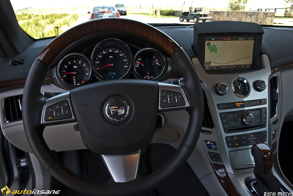2011 Cadillac Cts Coupe Interior I Recently Had The Chance Flickr