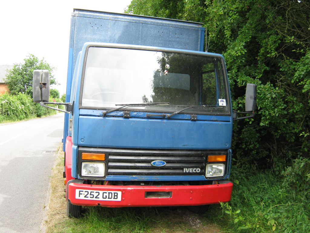 March 1989 Ford Cargo 0813 F252gdb Registration F252gdb Ma Flickr