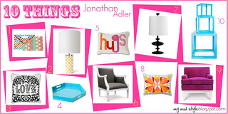 10things {Jonathan Adler} July 2010 | by Jessie {Creating Happy}