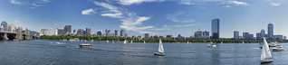 Boston Skyline, SONY NEX-5 Panorama Mode | by soelin