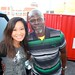 Jen Su and Djimon Hounsou