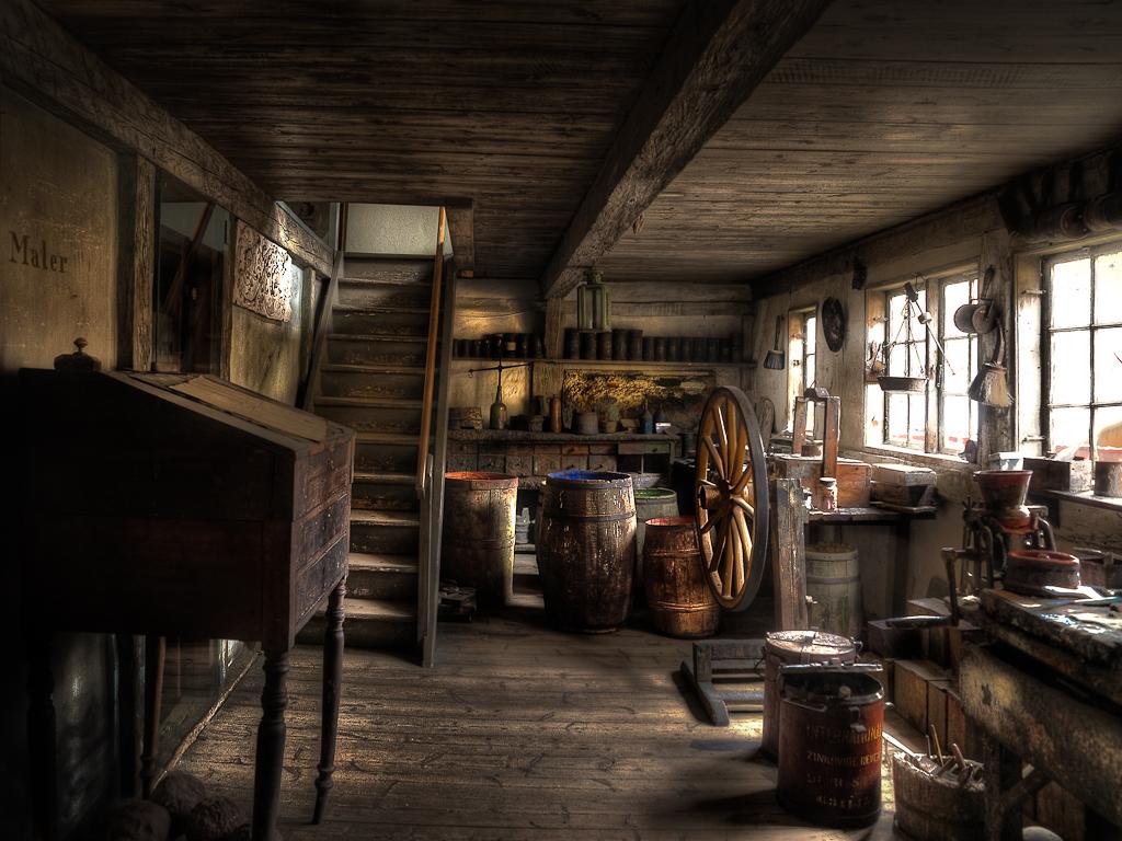 Old Painters Workshop Ren 233 Bang Flickr