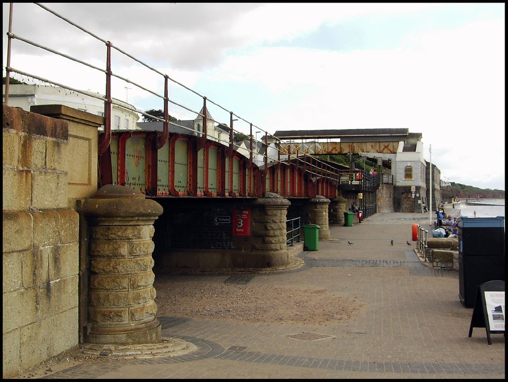 The Railway Arches At Dawlish The Short Viaduct Just