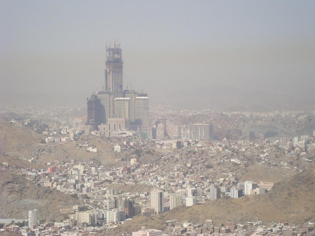 royal clock tower  makkah
