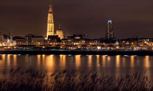 Antwerp City By Night Jimmy Aerts Flickr