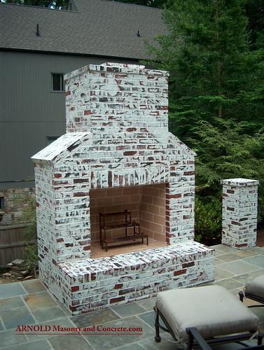 Atlanta bluestone chimney - Chimeneas para exteriores ...