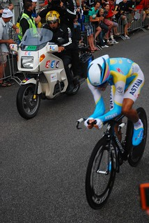 Alberto Contador at the Grand Depart | by daarwasik