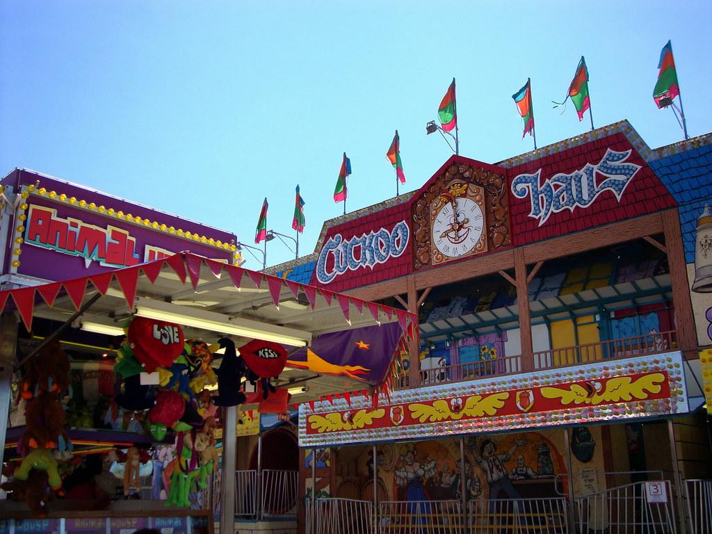 Animal House Dozers Carnival Game And Cuckoo Haus Fun Hous