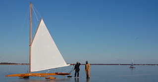 Ice Boating Great South Bay NY | by Refurbished Furniture