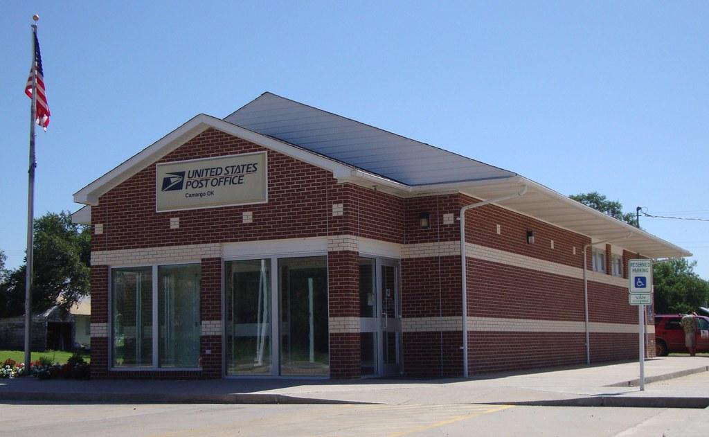 Post Office 73835 Camargo Oklahoma Camargo Is A Small