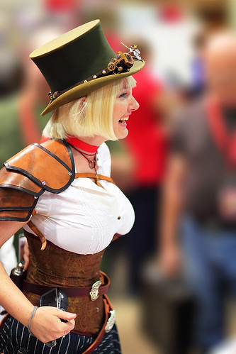 Steam Punk Lady 2010 Phoenix Comicon | by gbrummett