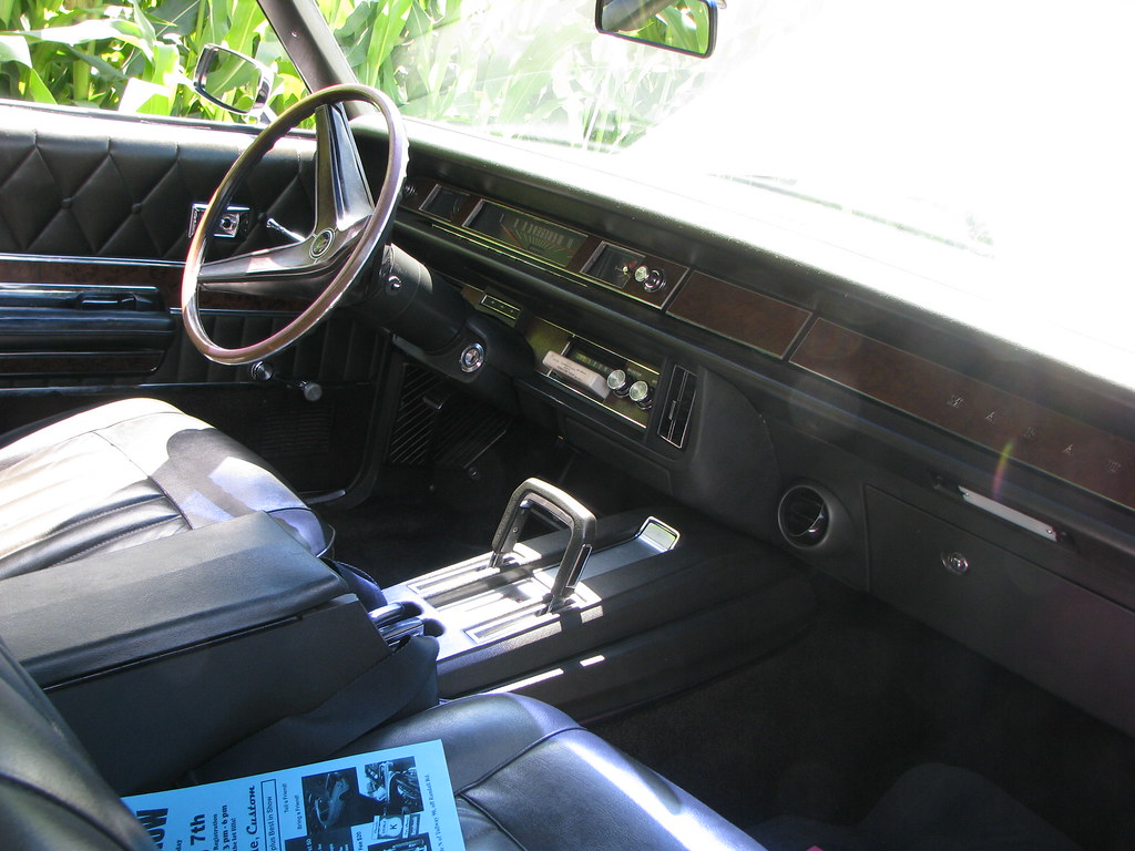... 1969 Mercury Marauder X 100 Interior | By Geognerd