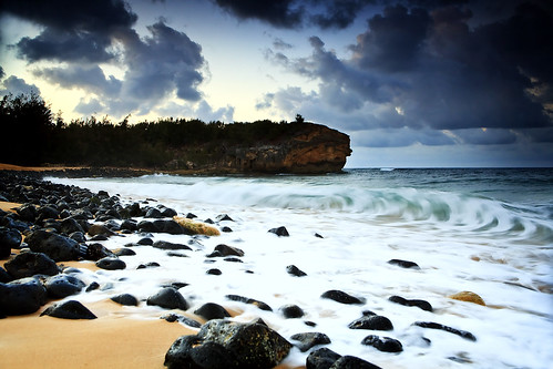 Sunrise from Shipwreck Beach | by Shannon Cayze