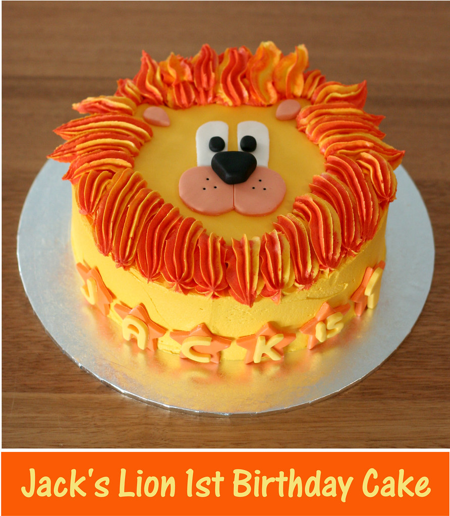 Lion Cake Yay Another New Customer Found Me On My