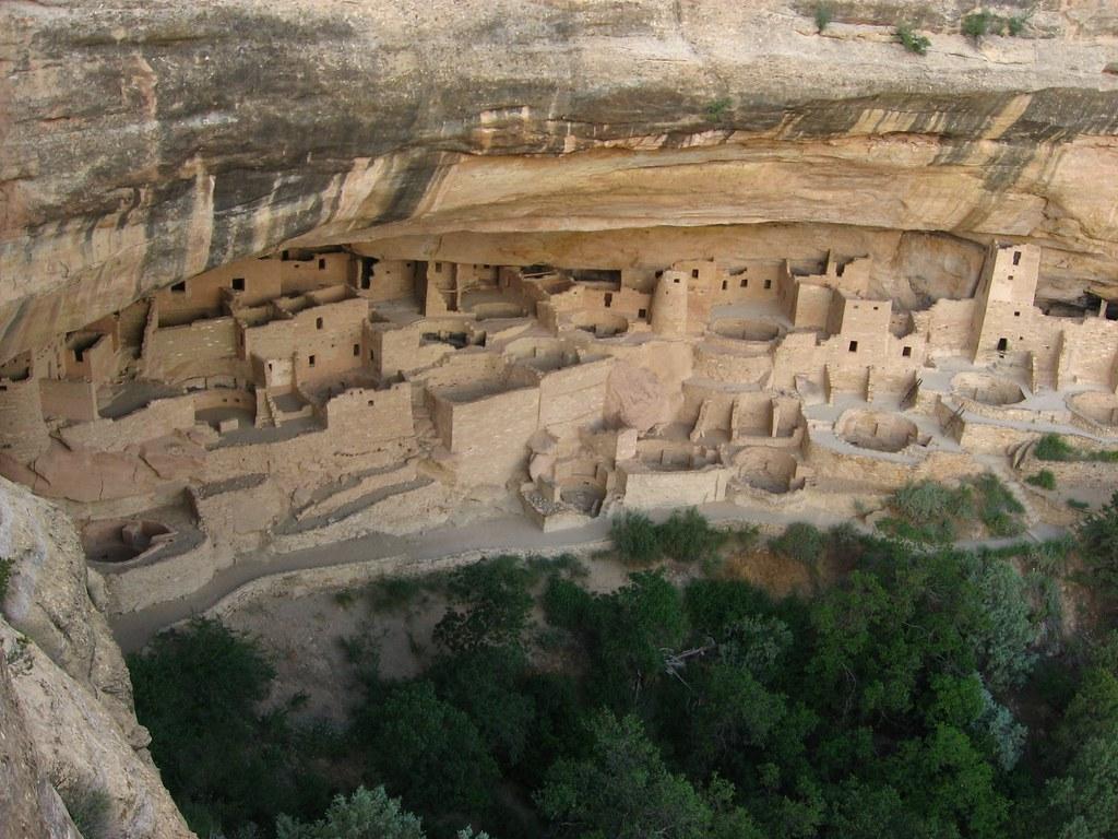 Cliff Palace Overlook Chapin Mesa Mesa Verde National Pa