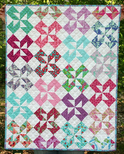 Pinwheel Quilt | by twinfibers