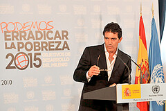 Antonio Banderas | by United Nations Development Programme
